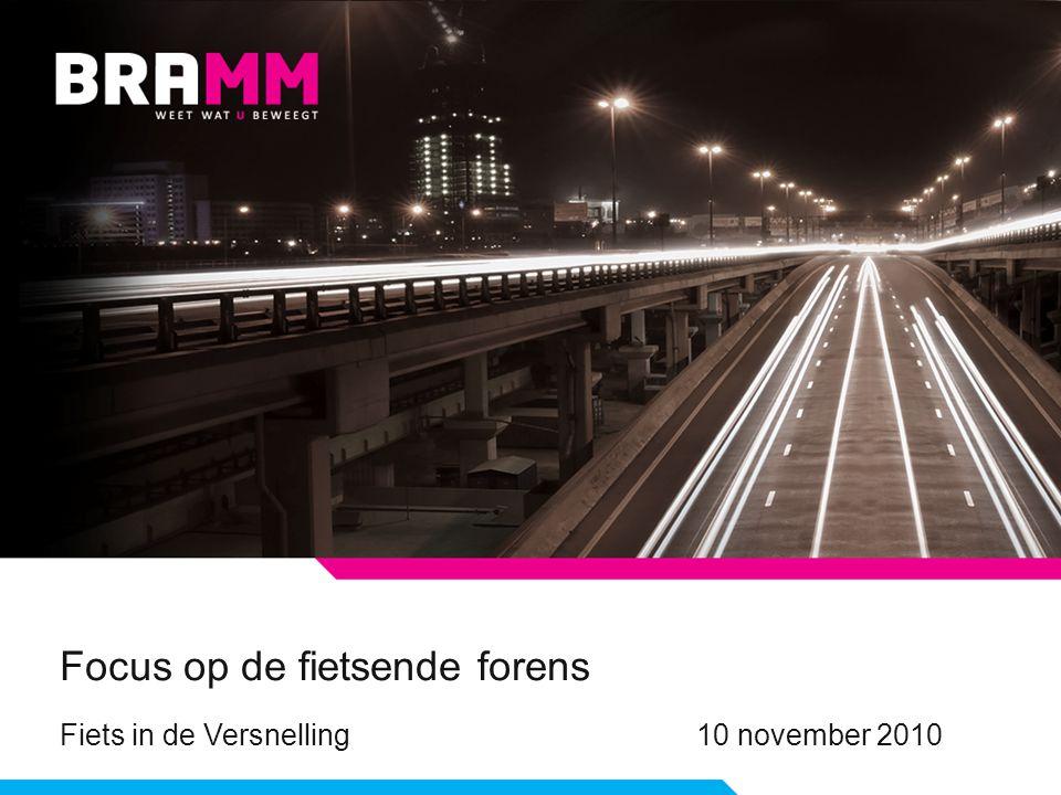 Focus op de fietsende forens Fiets in de Versnelling10 november 2010