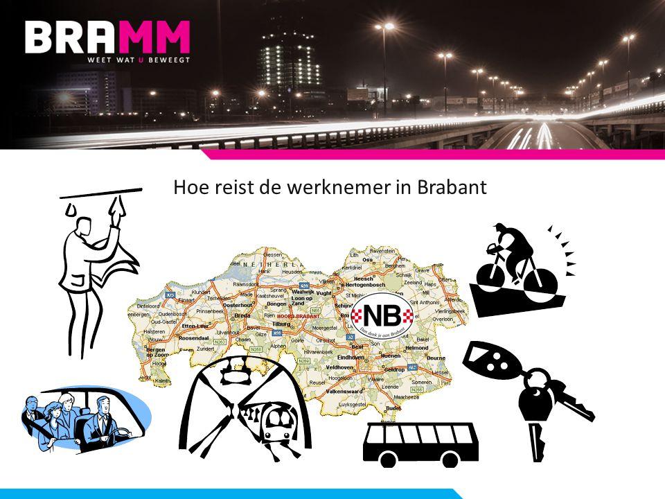 Hoe reist de werknemer in Brabant