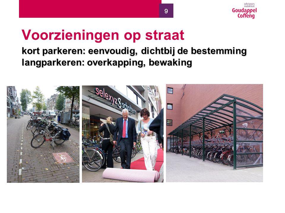 10 Inpandig fietsparkeren Weinig ontwikkelingen in buurtstallingen etc.Weinig ontwikkelingen in buurtstallingen etc.