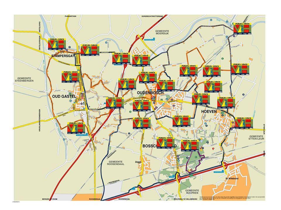 Ontwikkelingen Deelnemende gemeenten vanaf 2002 t/m 2007 : Apeldoorn, Barneveld, Beemster, Bergen op Zoom, Borsele, Brummen, Etten Leur, Kapelle, Moerdijk, Noord-Beveland, Reimerswaal, Roosendaal, Rucphen, Steenbergen, Tholen, Veere, Venlo, Woensdrecht, Zundert