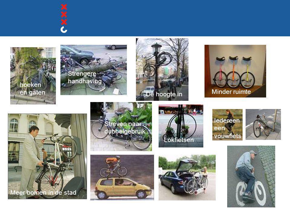 Langs de route Binnengasthuisterrein  UvA werkt aan totaalaanpak  Inzet verwijzend personeel  Inzet tijdelijke stallingen  Locker fietsenstalling  Inrichting voorplein/brug  Inzet personeel tijdelijk of structureel.