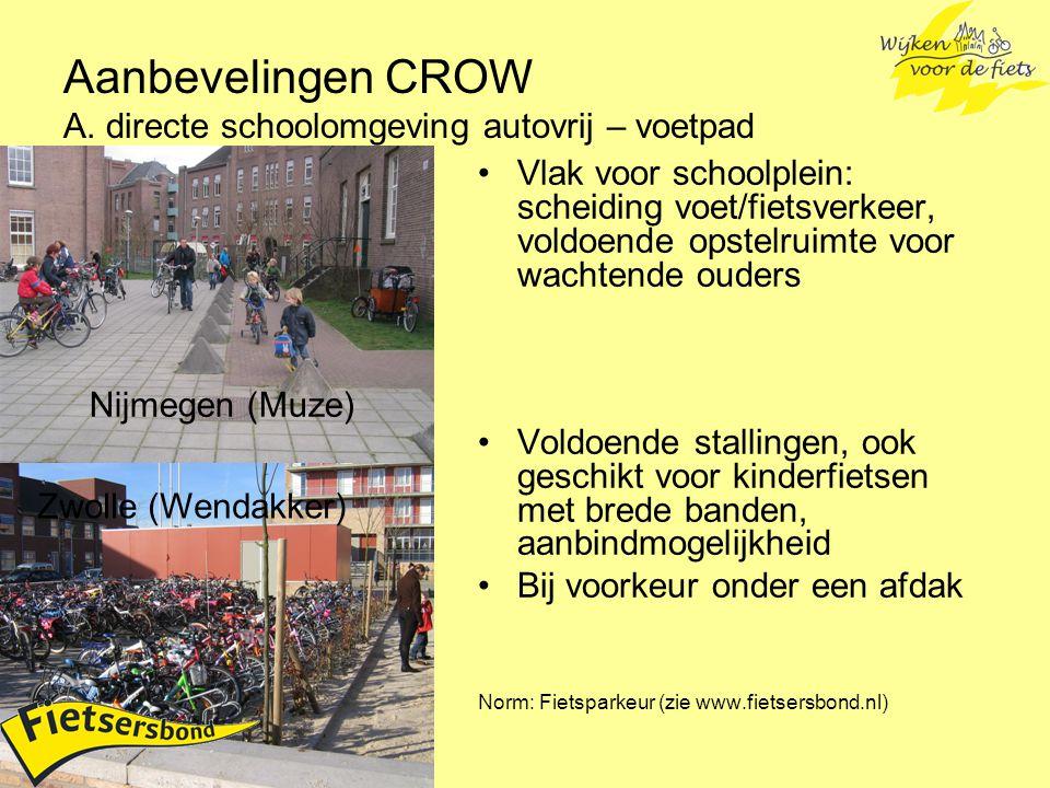 Voor vragen en informatie: Fietsersbond Project 'Wijken voor de fiets', Henk Hendriks / Mons Stolper 030 2918144 hendriks@fietsersbond.nl