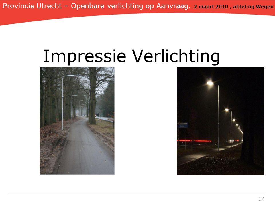 17 Impressie Verlichting Provincie Utrecht – Openbare verlichting op Aanvraag.