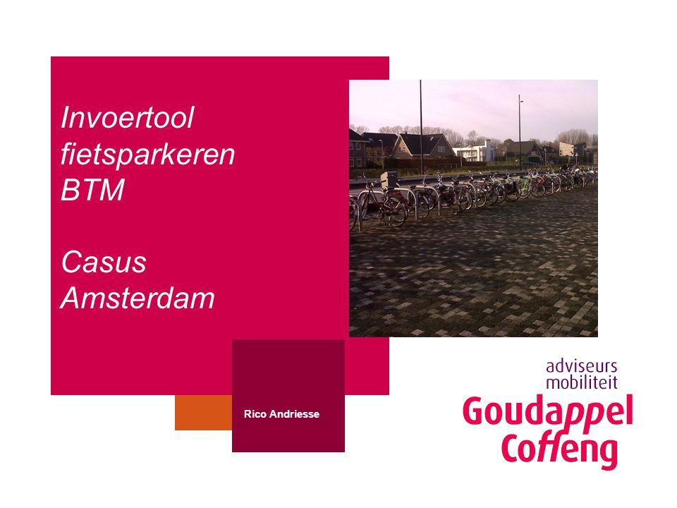 Invoertool fietsparkeren BTM Casus Amsterdam Rico Andriesse