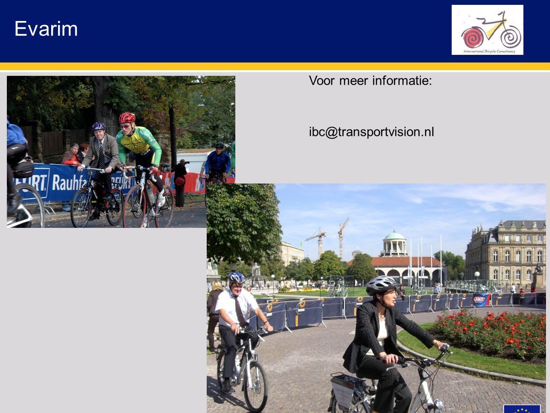 Evarim Voor meer informatie: ibc@transportvision.nl