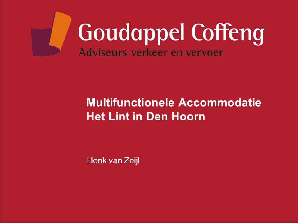Multifunctionele Accommodatie Het Lint in Den Hoorn Henk van Zeijl