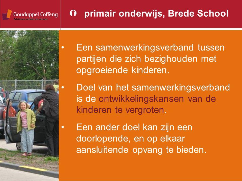 Ýprimair onderwijs, Brede School Een samenwerkingsverband tussen partijen die zich bezighouden met opgroeiende kinderen. Doel van het samenwerkingsver