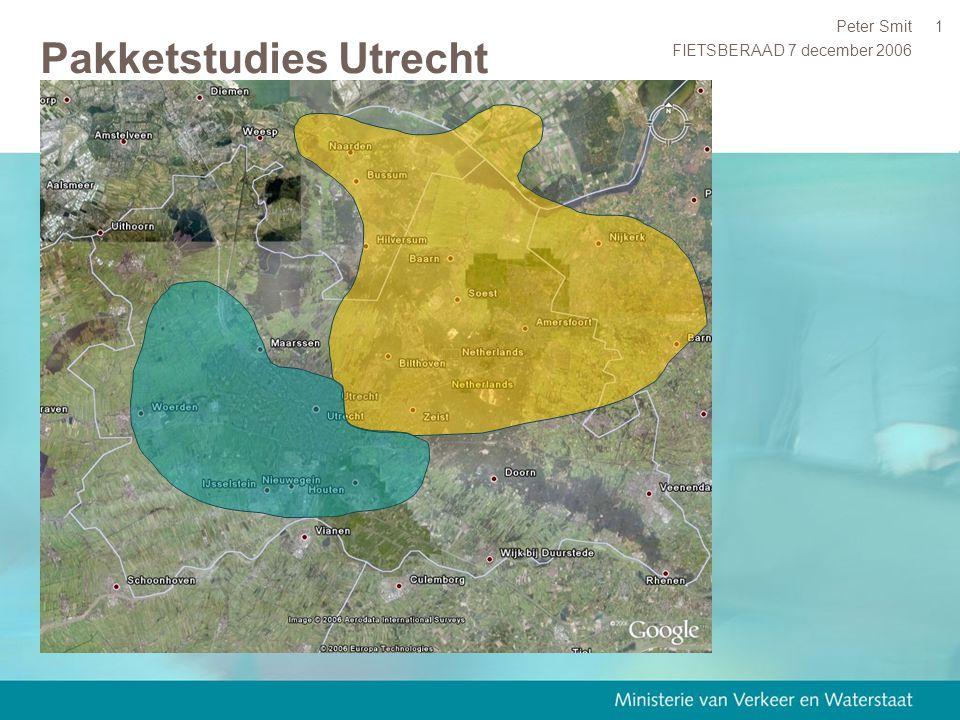 FIETSBERAAD 7 december 2006 Peter Smit1 Pakketstudies Utrecht