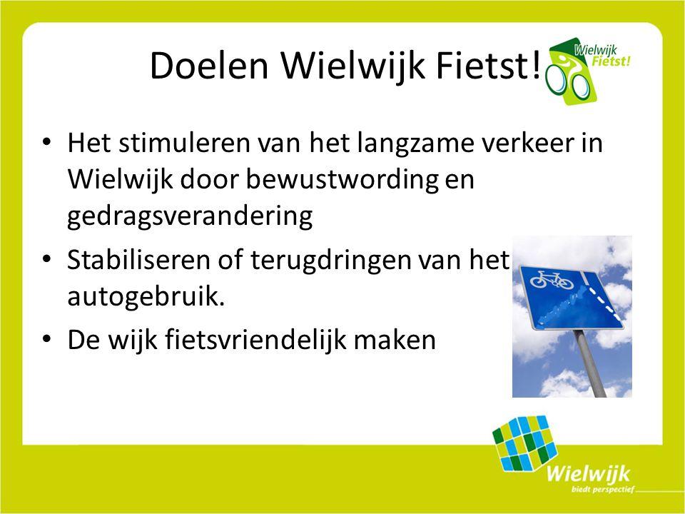 Doelen Wielwijk Fietst.