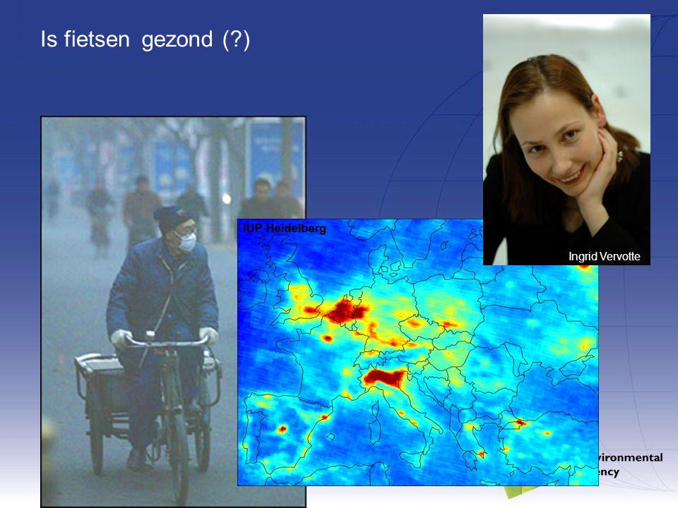 Is fietsengezond (?) Ingrid Vervotte