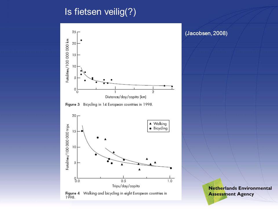 (Jacobsen, 2008) Is fietsen veilig(?)