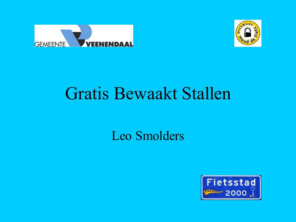 Gratis Bewaakt Stallen Leo Smolders