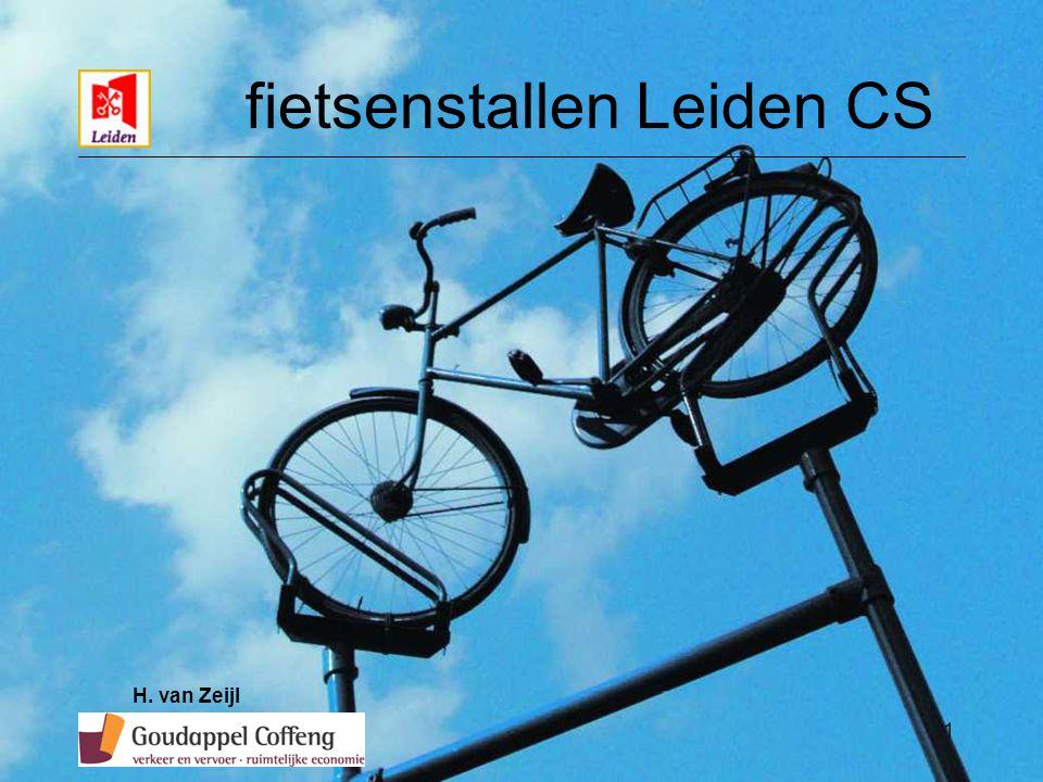 1 fietsenstallen Leiden CS H. van Zeijl