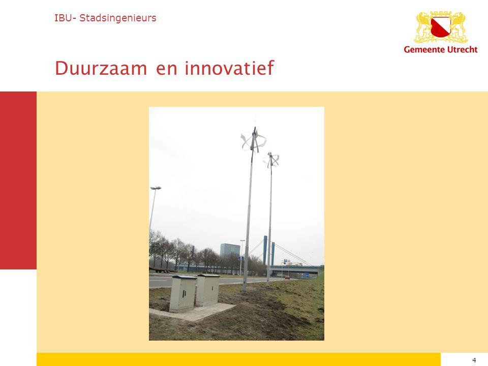 4 IBU- Stadsingenieurs Duurzaam en innovatief