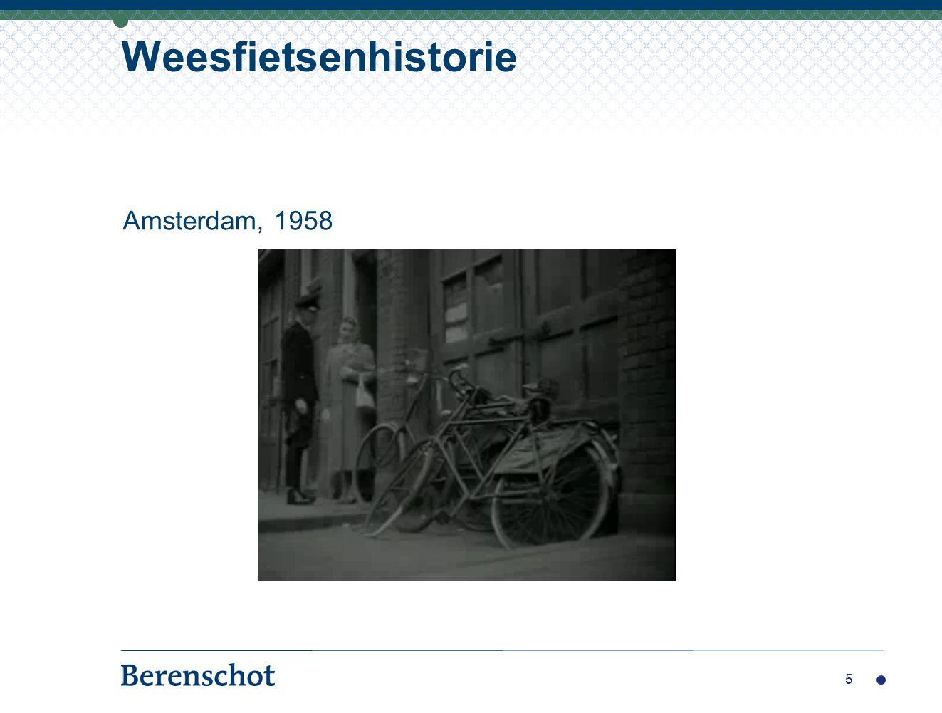 5 Weesfietsenhistorie Amsterdam, 1958