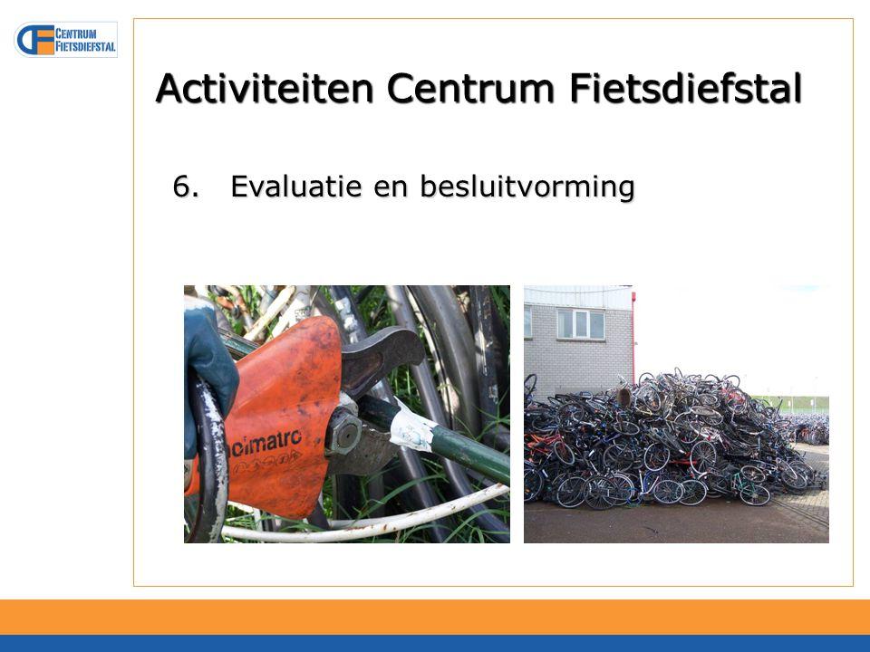 AFAC Minder weesfietsen en fietswrakken Meer stallingplaatsen Eigenaar fiets beter te traceren Alleen eigenaar krijgt fiets Geen gestolen fietsen terug in verkeer Bijdrage aan voorkomen van fietsdiefstal