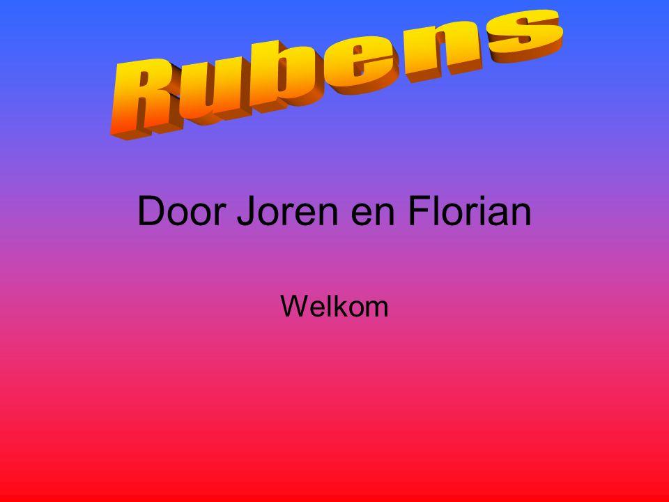 Door Joren en Florian Welkom