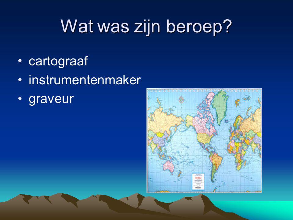 Mercator Gerardus Mercator gaf zijn naam aan het schoolschip.Dat een paar eeuwen later het stoffelijk overschot van Pater Damiaan naar België bracht.