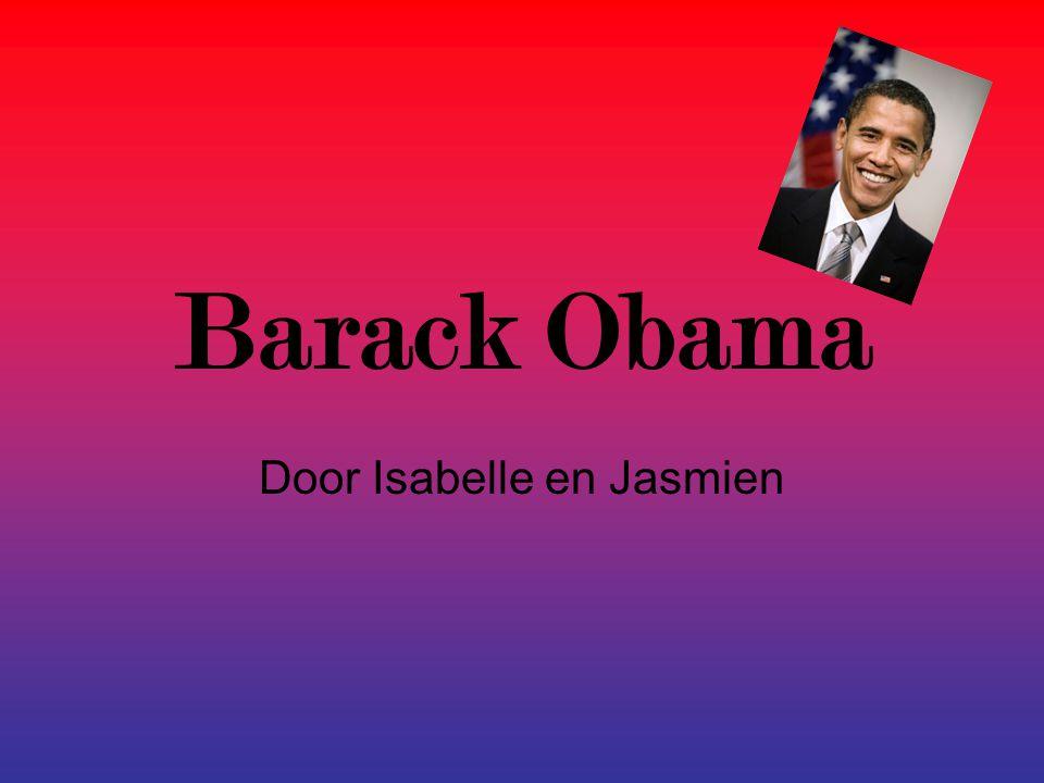 Barack Obama Door Isabelle en Jasmien