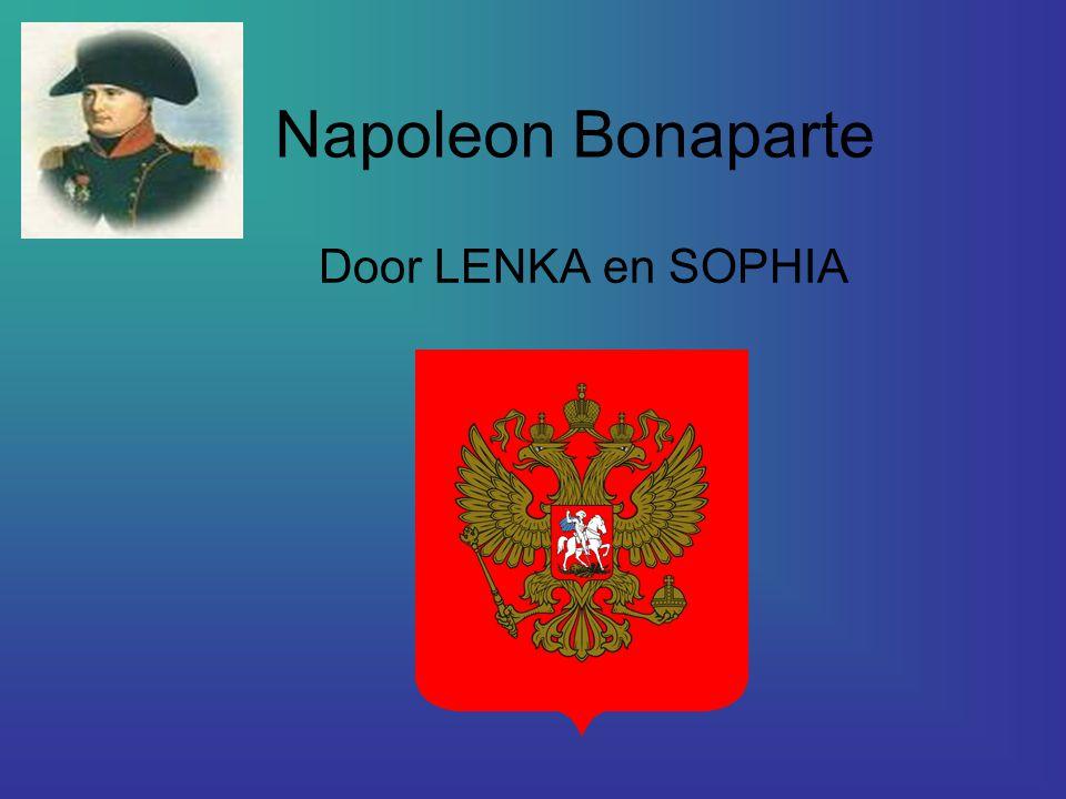 INHOUD : Wie is Napoleon ? Wanneer leefde hij ? Wat deed hij ?
