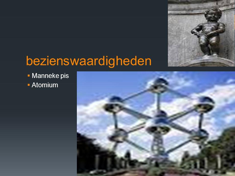 bezienswaardigheden  Manneke pis  Atomium
