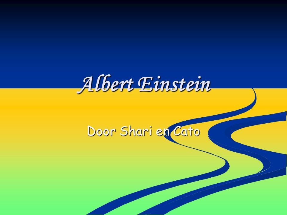 Albert Einstein Door Shari en Cato