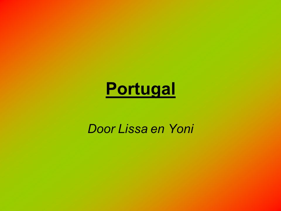 Portugal Door Lissa en Yoni