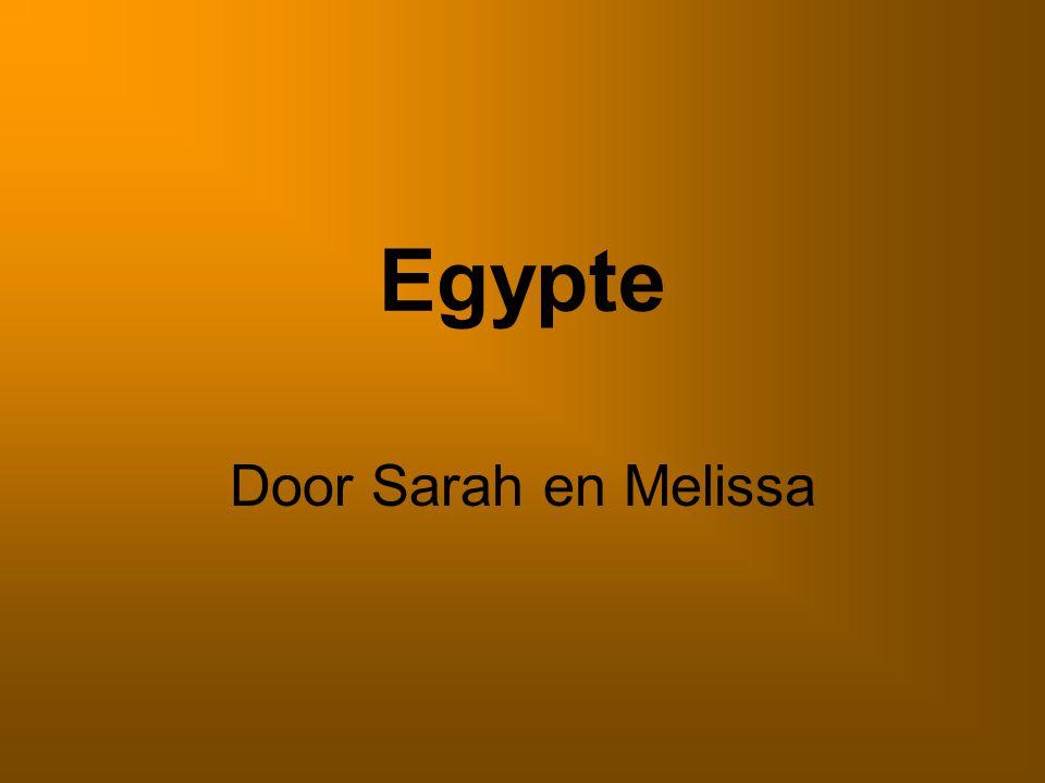 Egypte Door Sarah en Melissa