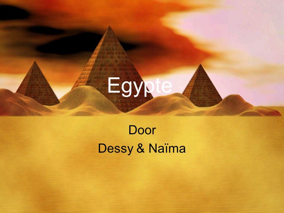 Egypte Door Dessy & Naïma