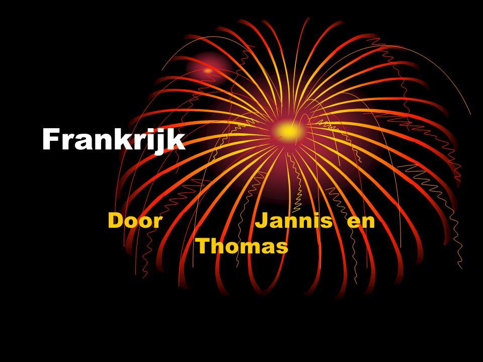 Frankrijk Door Jannis en Thomas