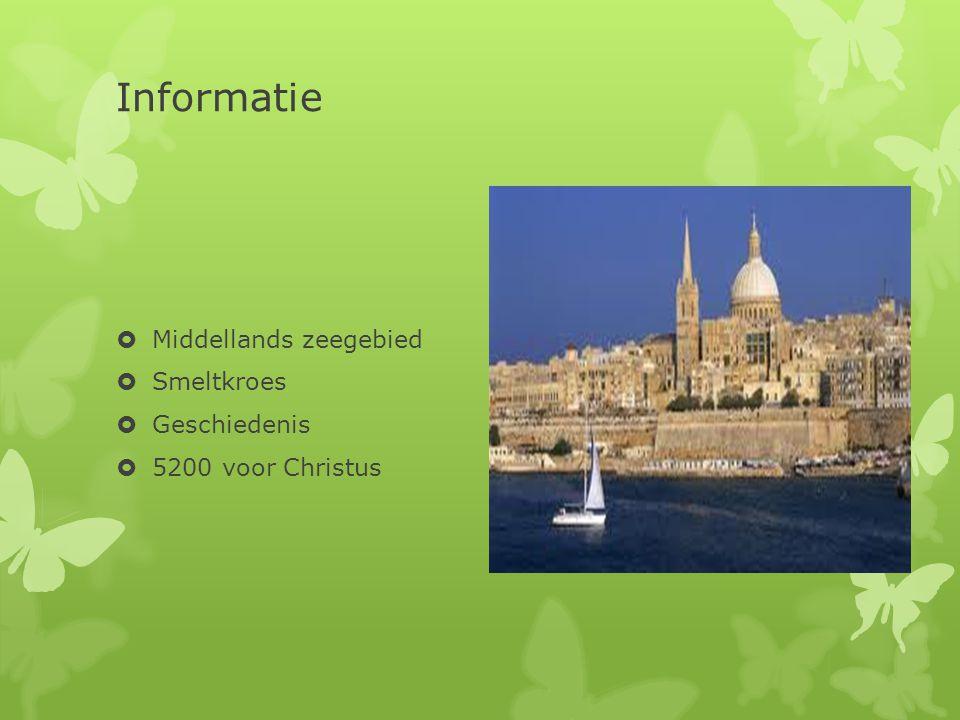 Informatie  Middellands zeegebied  Smeltkroes  Geschiedenis  5200 voor Christus