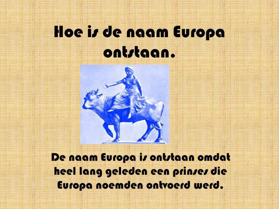 Europa een werelddeel vol contrasten. Van Jarne en Bavo