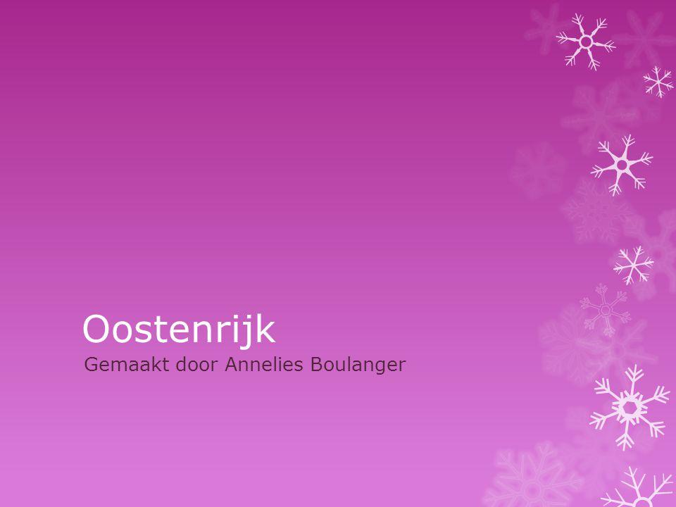 Oostenrijk Gemaakt door Annelies Boulanger