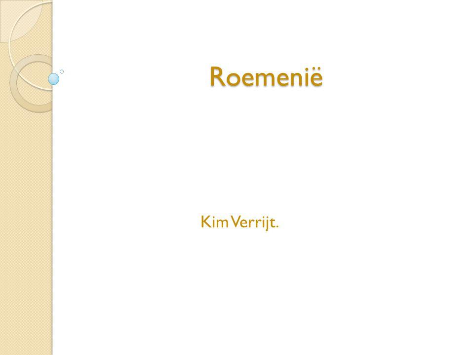 Roemenië Kim Verrijt.