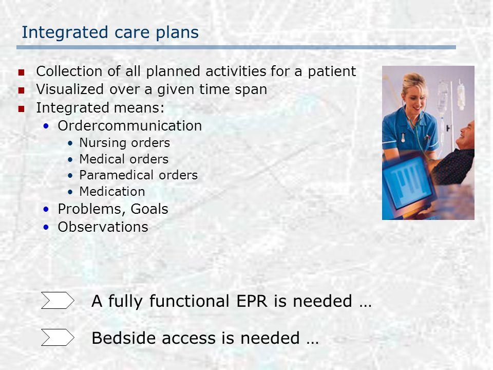 Care plan merging