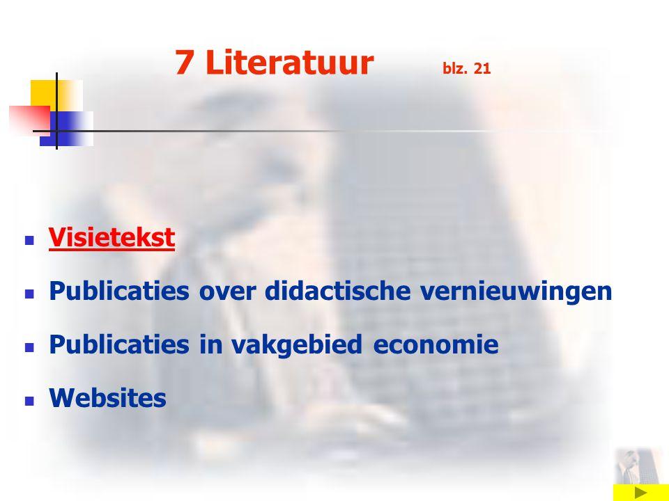 7 Literatuur blz.