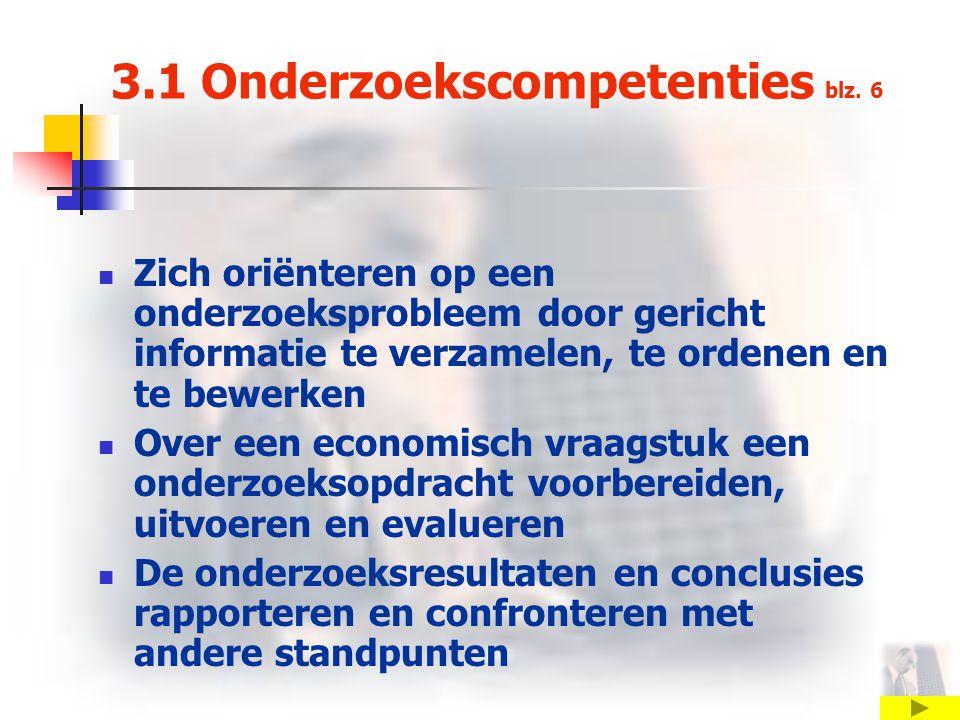 3.1 Onderzoekscompetenties blz.