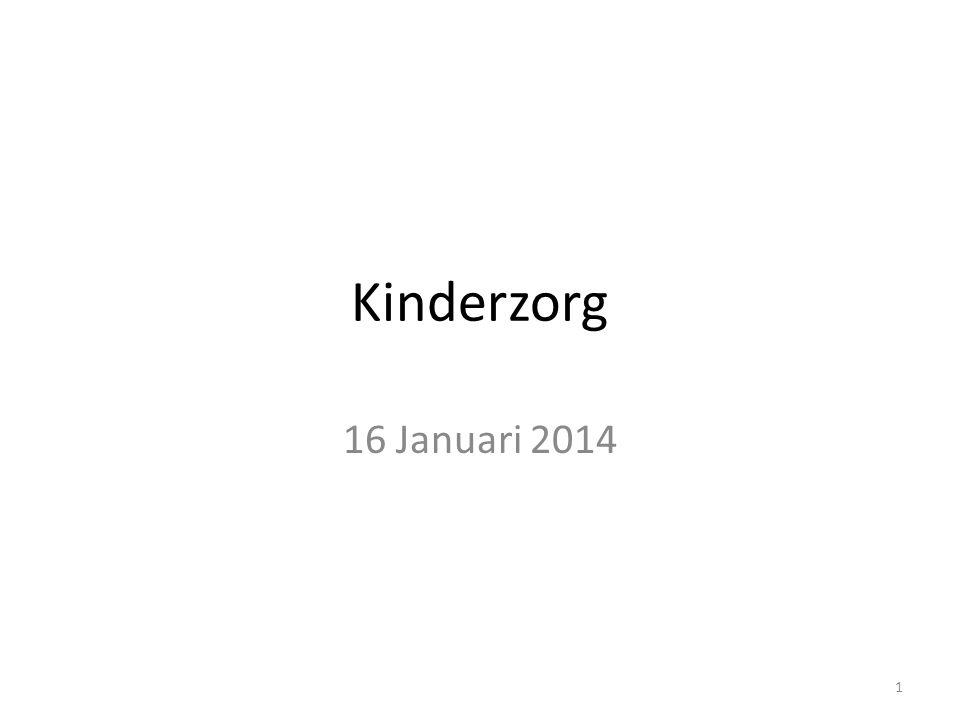 Kinderzorg 16 Januari 2014 1