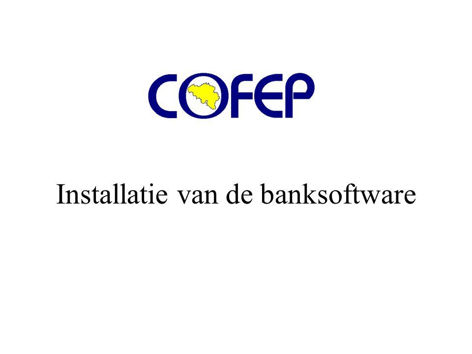 Installatie van de banksoftware