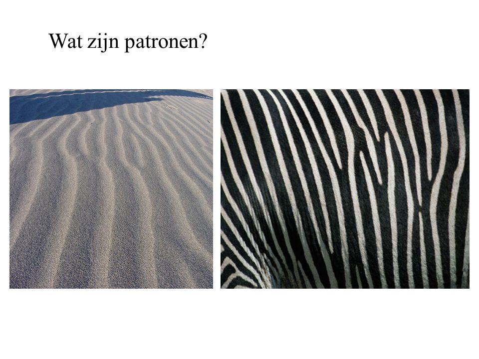 Wat zijn patronen