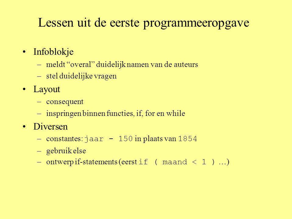 Opgave 9 zonder functies #include using namespace std; int main ( ) { int n; // in te lezen getal int res; // voor het resultaat: n.