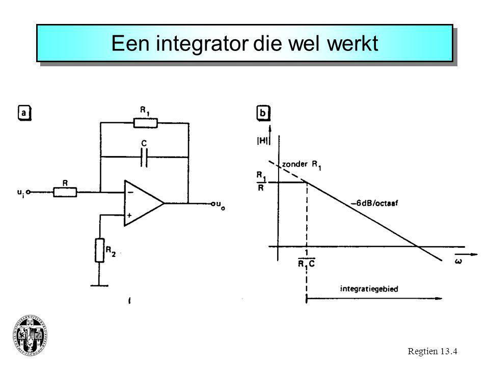 Een integrator die wel werkt Regtien 13.4