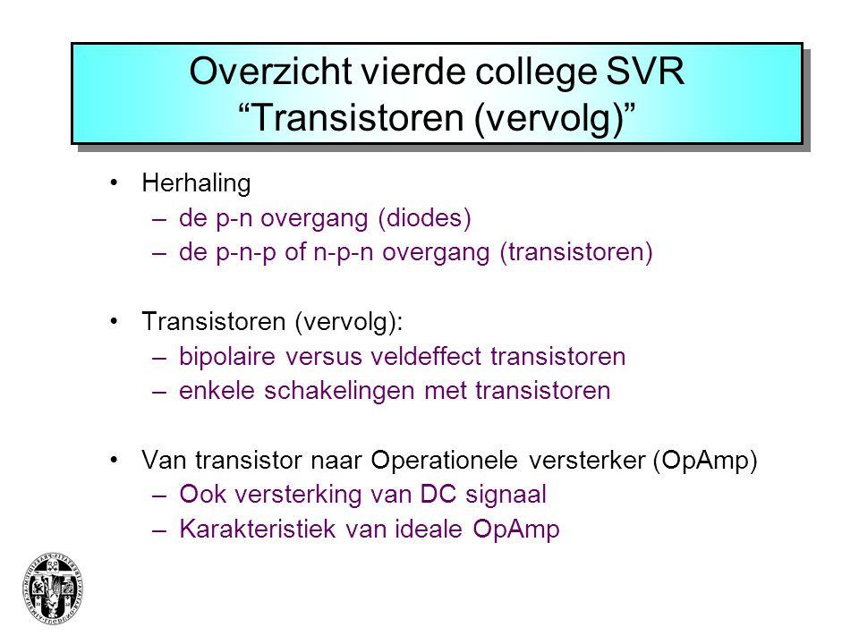 Veldeffecttransistor (Junction FET)