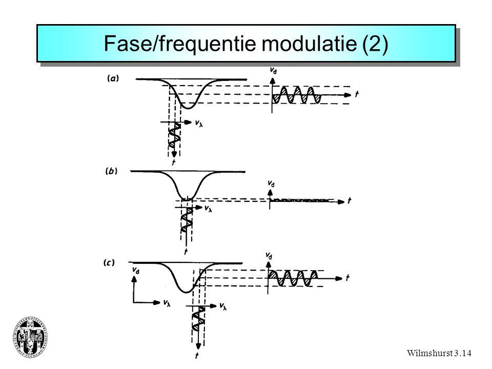 Fase/frequentie modulatie (2) Wilmshurst 3.14