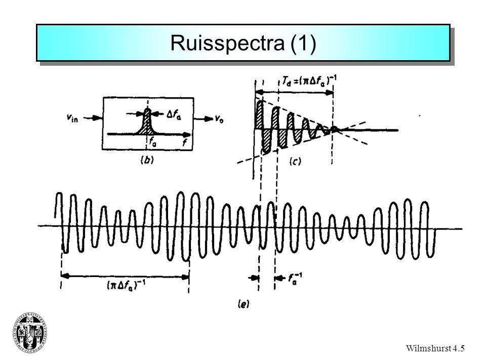 Ruisspectra (1) Wilmshurst 4.5