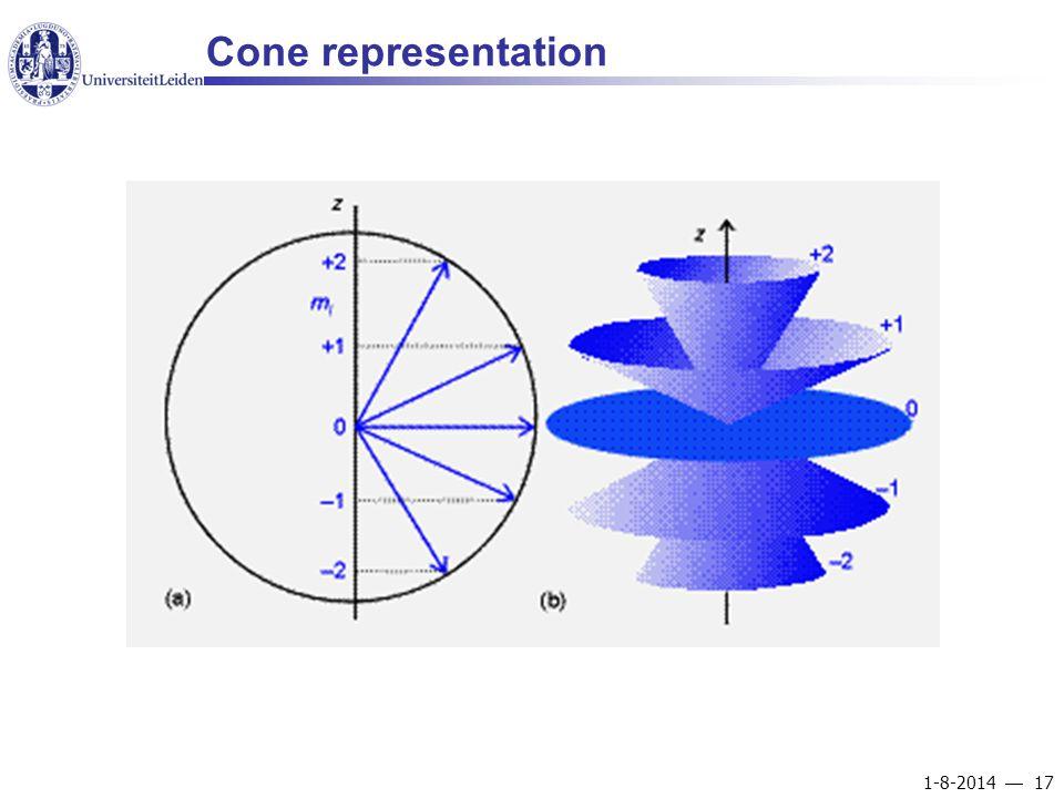 1-8-2014  17 Cone representation