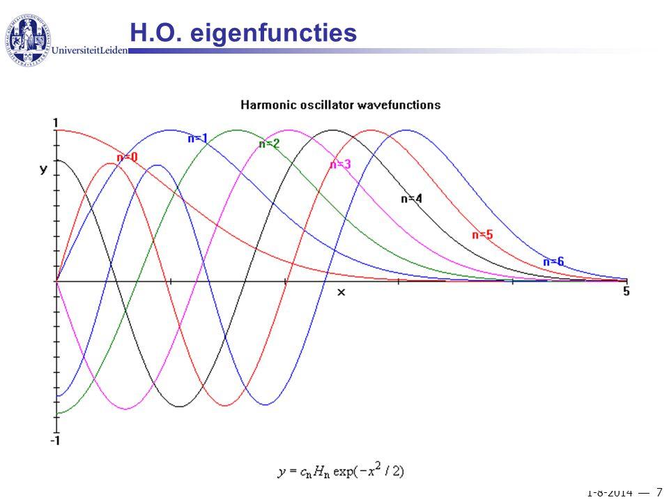 1-8-2014  7 H.O. eigenfuncties