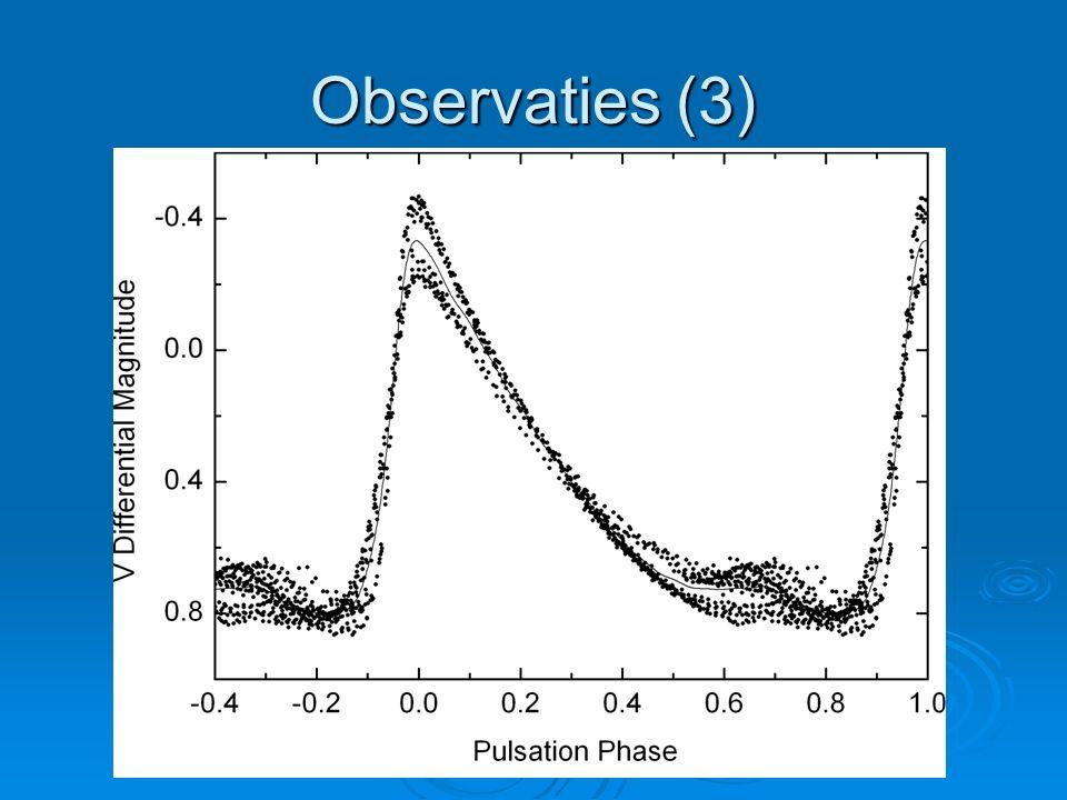 Observaties (3)