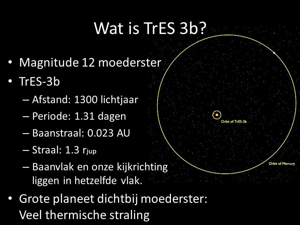 Wat is TrES 3b.