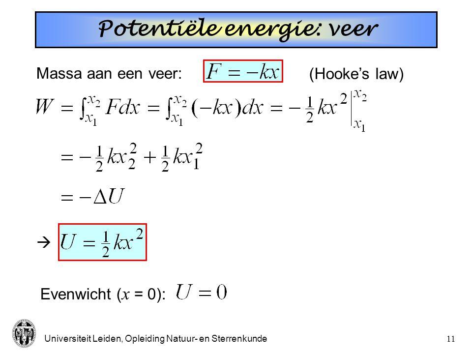 Universiteit Leiden, Opleiding Natuur- en Sterrenkunde10 Wrijving *** Wat is eindsnelheid? Alternatief: